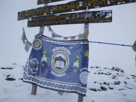 Climbing Kilimanjaro for St Jude's