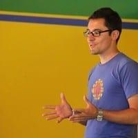 Canadian journalist Adam Bemma at The School of St Jude