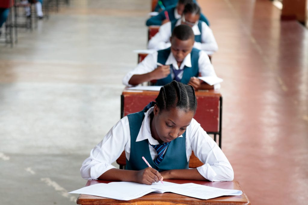 Watch as our excited Form 6 students finish final exams