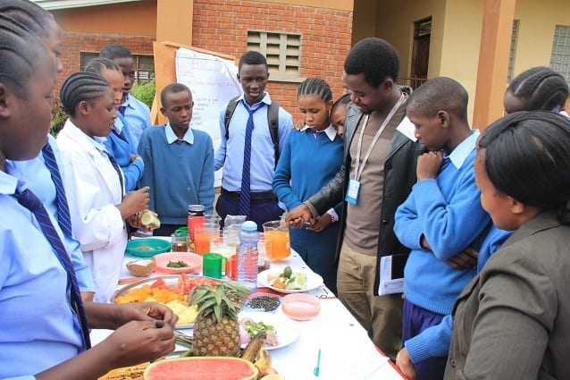Raspberry Pi on menu at Science Day