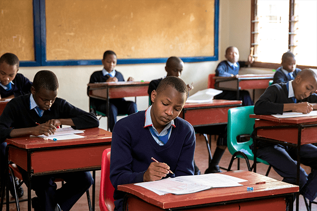 Exams aced: Our Form 2 students aced their exams, with 96% achieving the top possible mark.