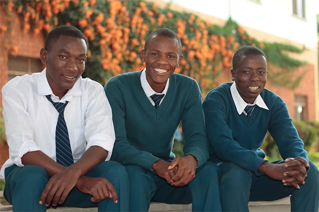 Beyond expectations: Gift credits his success and desire to help others to his education at The School of St Jude.