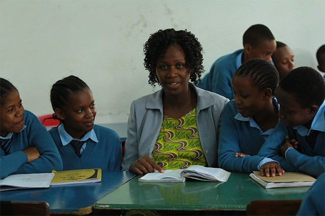 Beaker of hope: Tanzania requires professionals in science and mathematics.