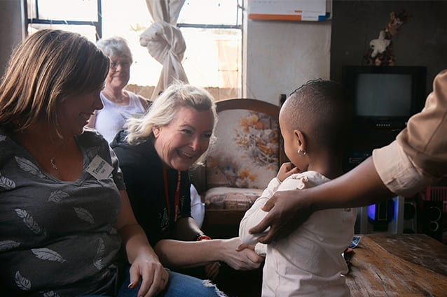 Ripple effect: Timuana and Clorinda's lives have been changed by their visit to Tanzania.
