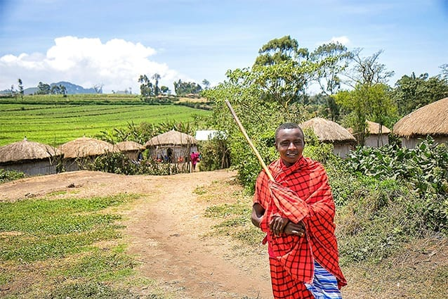 Making of a Maasai leader: As an aspiring Engineer, Lotoishe will give back to his community.