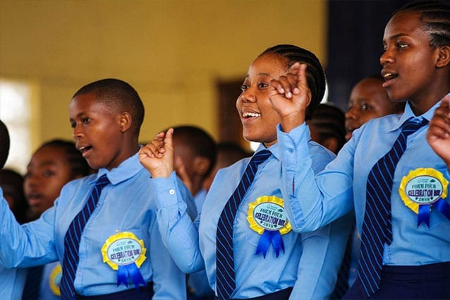 Great expectations: Reaching Form 4 in Tanzania is a significant educational milestone.