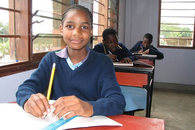 A worthwhile journey: Christina in 2008 when she was in Standard 5.