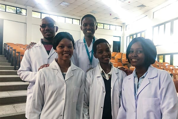 Trailblazing Students: The group of Alumni, studying at Muhimbili University are leading the way and inspiring the St Jude's community.
