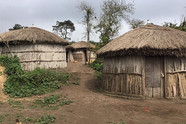 Maasai Movement: The boma's (the traditional name for a Maasai dwelling) that Lomnyack will visit to educate families.