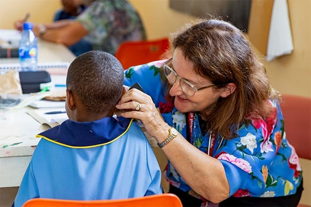 Loud and Clear: Yes, you can hear properly! Students get their hearing checked so they don't miss anything in class.