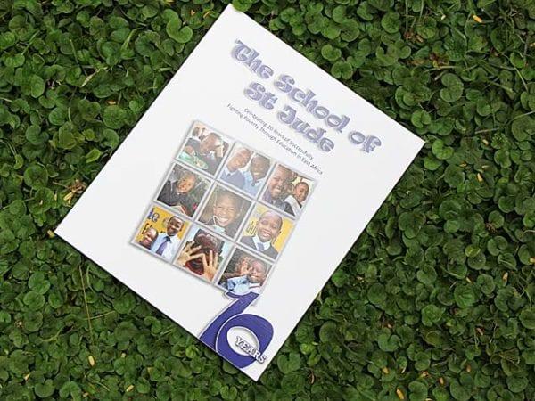 Ten year anniversary celebration book