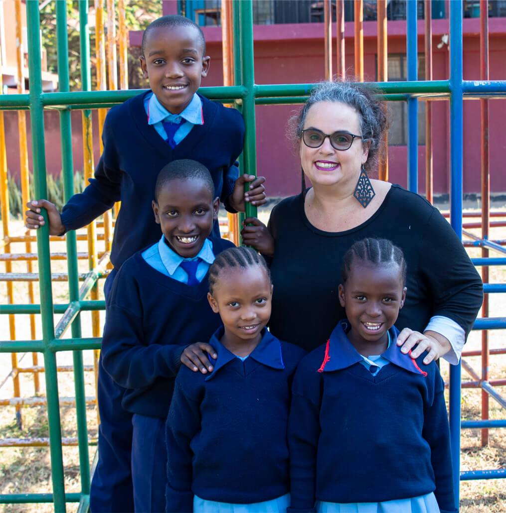 Gemma and kids